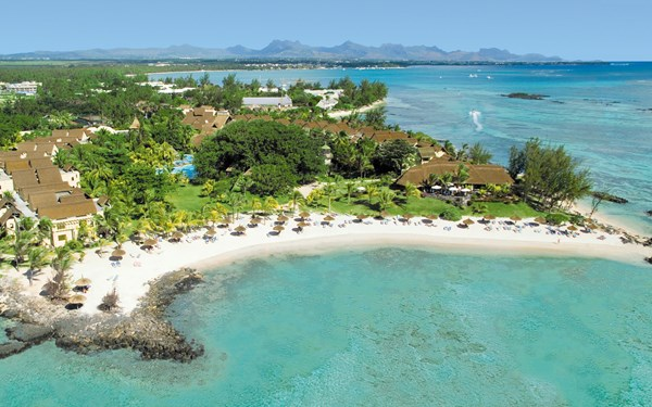 Canonnier Beachcomber Golf Resort & Spa op Mauritius